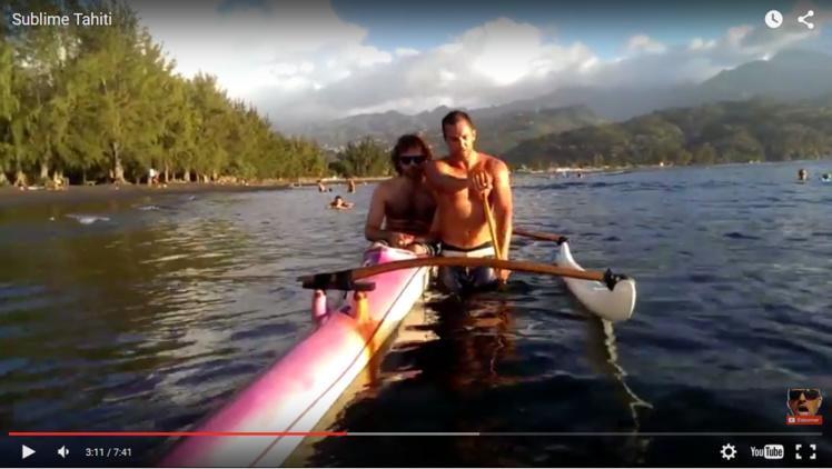 """Les premiers jours du """"blogueur voyageur"""" à Tahiti en vidéo"""