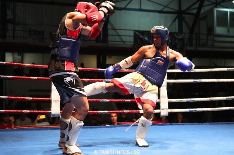 Boxe Thaï – Championnat de Polynésie : Aito Lenoir a été impressionnant.