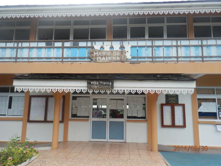Mahina : Pas de permanence des services de la commune, en décembre