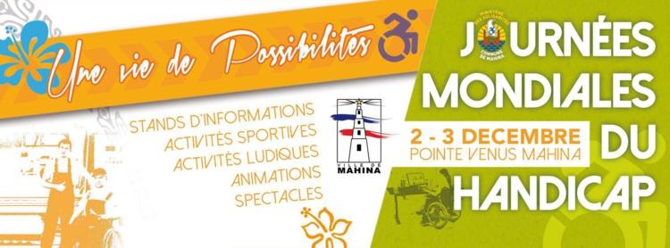 Mahina : Plusieurs activités seront organisées à la Pointe Vénus pour les journées mondiales du Handicap