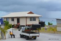 Planchers effondrés dans des fare MTR : une mission d'architectes à Huahine