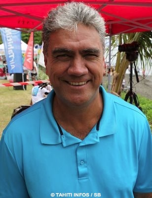 Gordon Barff, le coach d'Hiromana