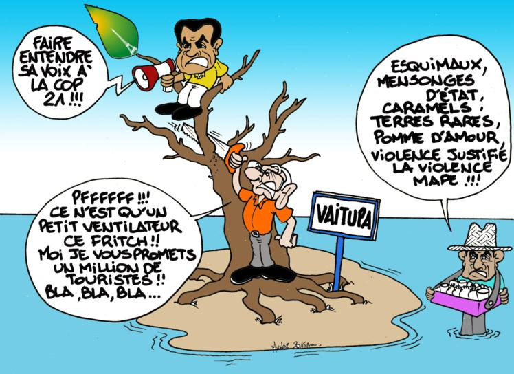 """""""Le chao men politique"""" par Munoz"""