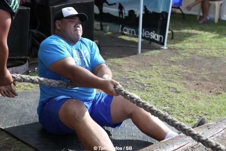 Heifara Tauma arrive en 3e position