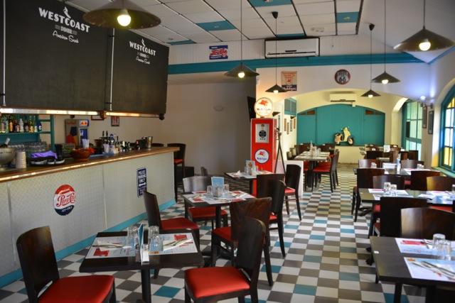 Westcoast Diner, ambiance 66's à Punaauia