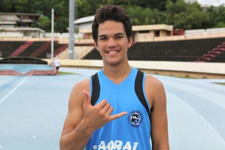 Teura Tupaia, 15 ans, du club Aorai