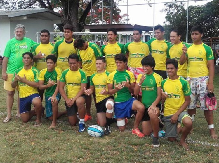 Les U18 de Faa'a Champion Inter club 2015