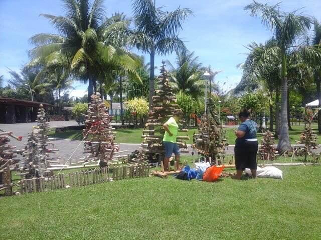 Plusieurs associations ont contribué à la décoration des jardins