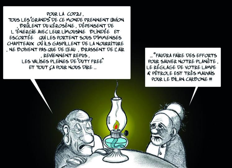 """""""Le COP 21"""" par Munoz"""