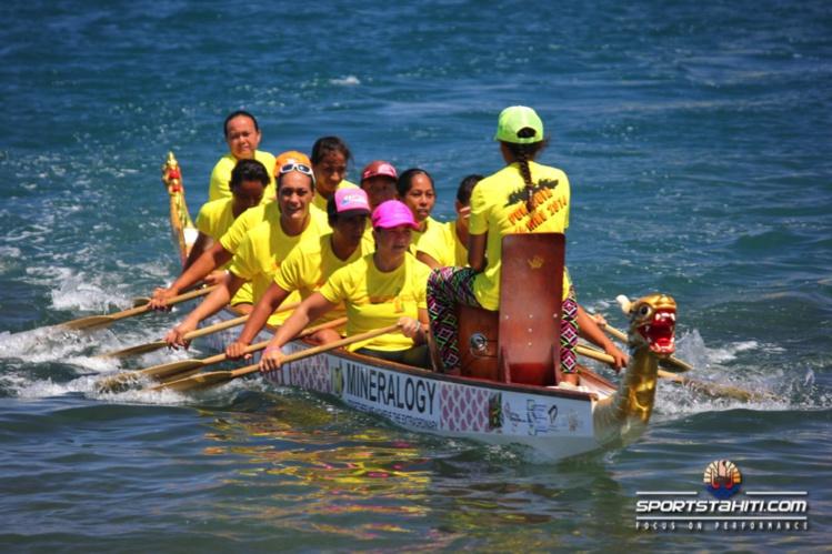 Le Dragon Boat est pratiqué par une centaine de pays, selon Tauhiti Nena