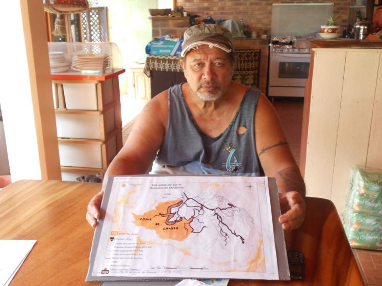"""La chasse a été autorisée uniquement aux membres de l'association """"Paopao no Moorea"""""""