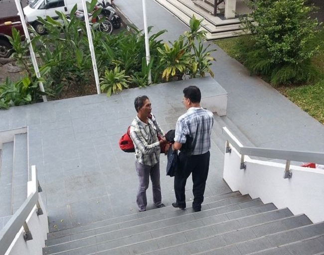 """Verdon Tefaatau s'est excusé à la barre pour son comportement et affirme qu'il a dû rendre des comptes à sa population, choquée par son """"dérapage"""" avec les gendarmes."""