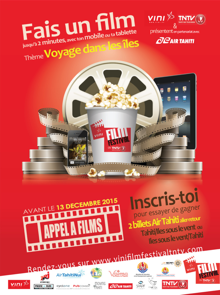 Vini film festival on TNTV : votez pour vos films préférés