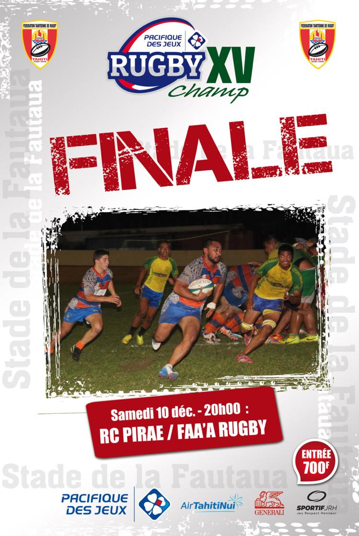 Rugby à XV – PIRAE vs FAA'A : La finale du championnat se jouera samedi