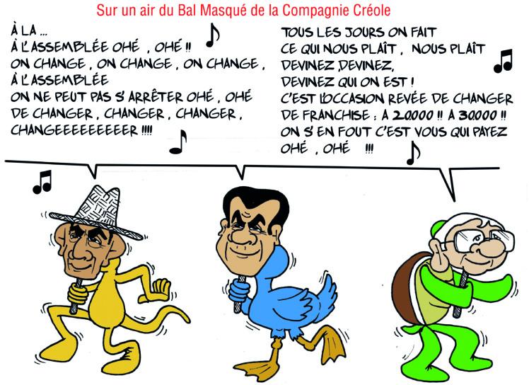 """""""La franchise douanière"""" par Munoz"""