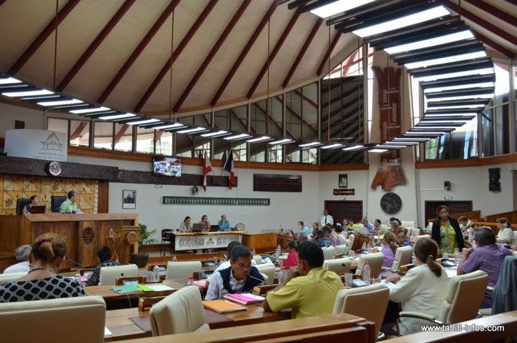 L'Assemblée vote à l'unanimité son budget à 2,2 milliards Fcfp pour 2016