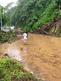 Fortes pluies : des coupures d'électricité côte Est