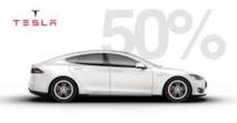 Un site suisse de vente sur internet propose des Tesla neuves moitié prix pour son 10ème anniversaire