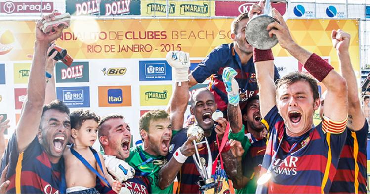 C'est la première fois que le Barça remportait cette compétition