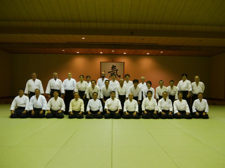 Tahiti Ki-Society au japon pour un stage de ki-aïkido
