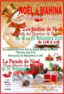Mahina : La commune célèbre les festivités de noël à partir de demain