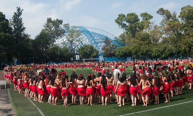 Le Mexique a réussi à réunir 1 500 personnes le 5 septembre 2015.