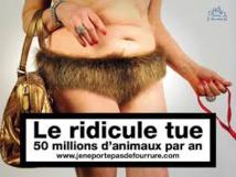 Nouvelle campagne de la Fondation Bardot contre la fourrure