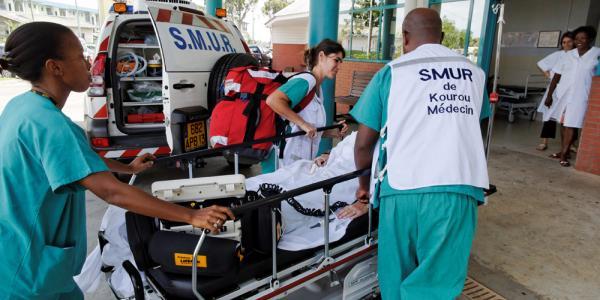 Photo d'illustration (crédit : Centre médico-chirurgical de Kourou (CMCK) : établissement hospitalier de la Croix-Rouge française, en Guyane)