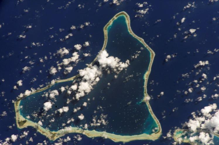 Marokau abrite une petite communauté de 91 âmes au dernier recensement. Les gendarmes poseront le pied sur l'atoll ce mardi.