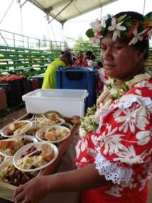 Un repas de Noël pour les matahiapo et les personnes handicapées à Huahine