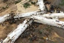 Australie: déraillement d'un train transportant 200.000 litres d'acide sulfurique