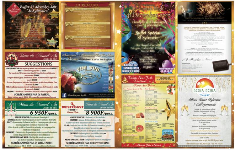 Cliquez pour télécharger les menus