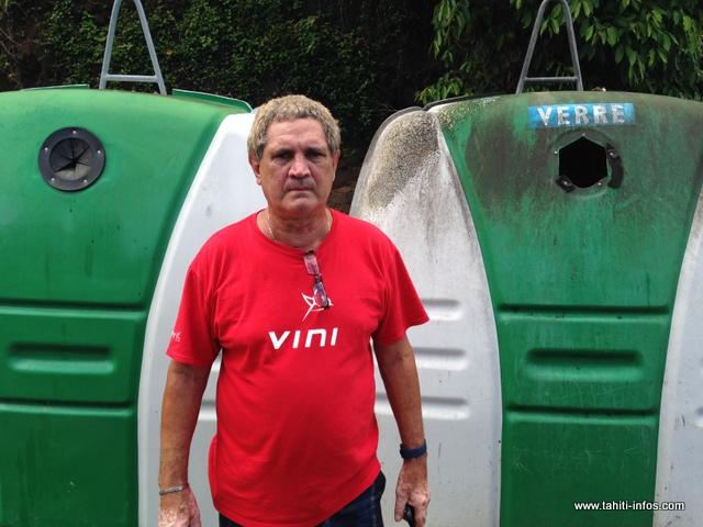 Frédéric Fritch souhaiterait installer des caméras afin de dissuader les pollueurs.