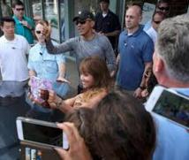 Un drone survole le cortège d'Obama à Hawaï