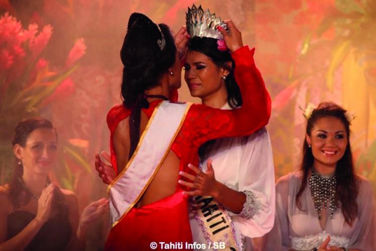 Vaimiti Teiefitu était la première des 31 candidates à Miss France 2016 à être élue.