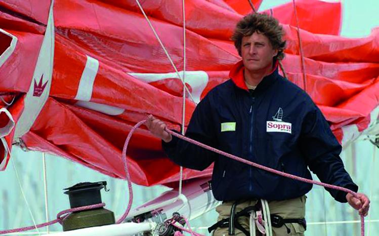 Laurent Bourgnon, 49 ans, effectuait une croisière privée à bord de son navire avec plusieurs passagers