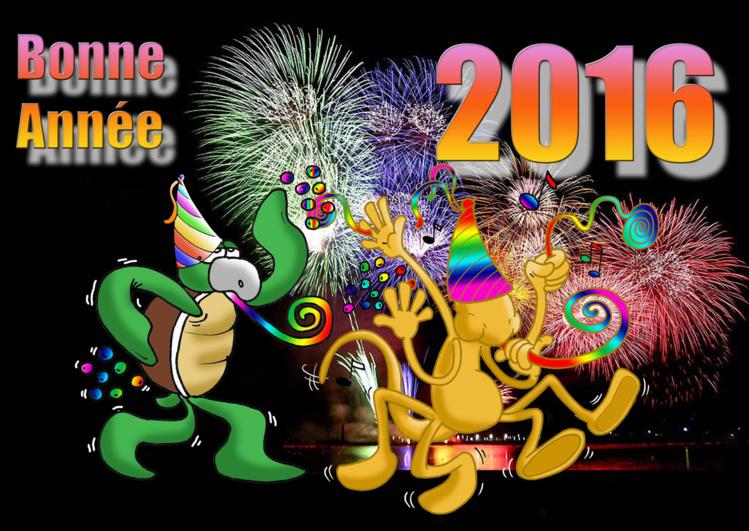 Munoz vous souhaite une très Bonne Année 2016