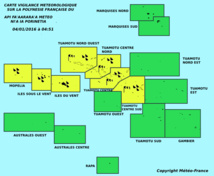 Les Tuamotu et la Société en vigilance jaune : appel à la prudence