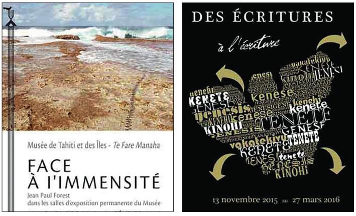 Deux expositions au Musée de Tahiti et des îles