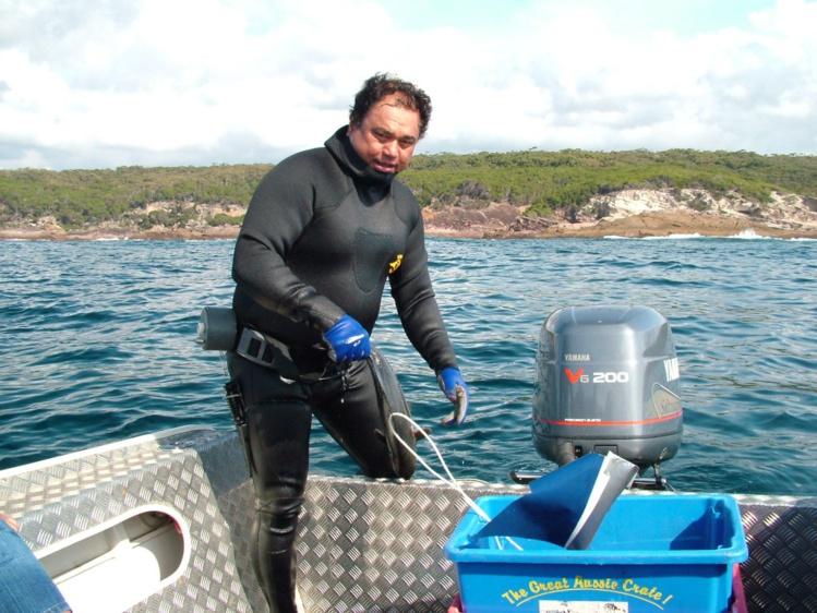 Compétition de pêche sous-marine à Mataiea le 9 janvier