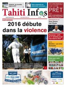 TAHITI INFOS N°570 du 5 janvier 2016