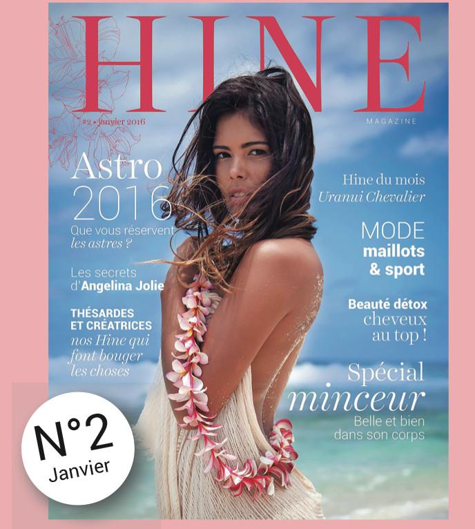 Parution de HINE Magazine #2