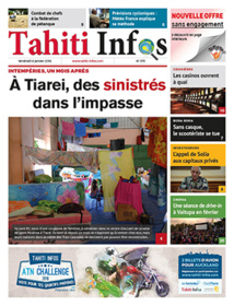TAHITI INFOS N°573 du 8 janvier 2016