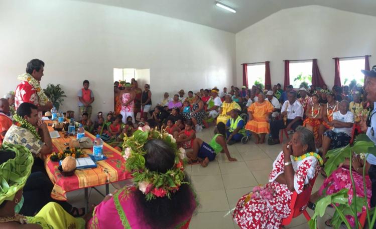 Samedi, la délégation gouvernementale a été accueillie à Reao.