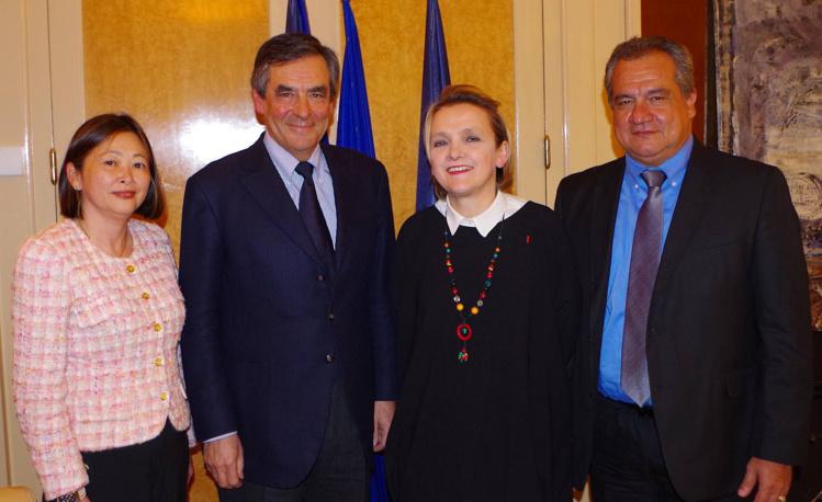 La Polynésie présente aux vœux de la mairie du Vème arrondissement de Paris