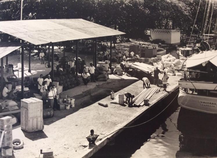Les rues de Papeete, le marché, le port… se dévoilent sous un autre jour dans des jeux d'ombre et de lumière.