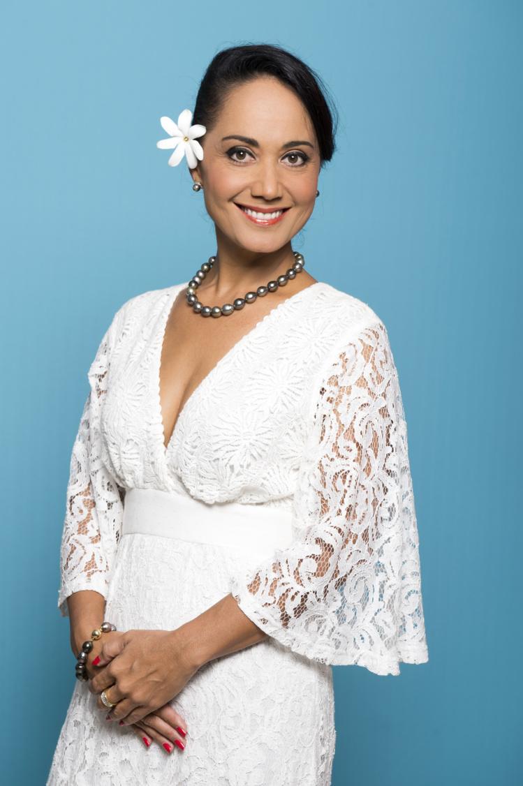 Stella Taaroamea, la nouvelle responsable des programmes télé.