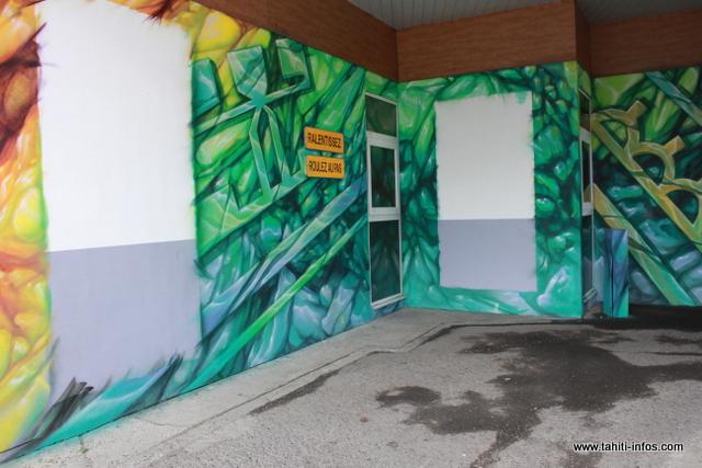 Les gagnants du concours de graffiti auront le privilège de reproduire leurs oeuvres sur les murs de la direction de la jeunesse et des sports