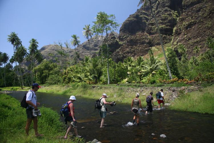 Aucune difficulté pour cette randonnée ; on traverse parfois la rivière, mais les gués sont très aisés à franchir.