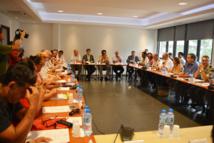 Etat, Pays et communes, justice, police, gendarmerie, éducation nationale et associations étaient représentés pour cette première réunion.